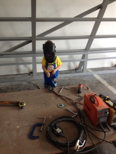 Asher the welder